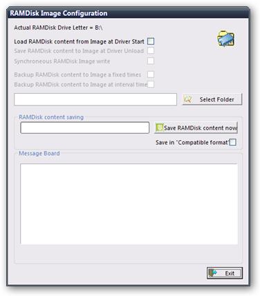 RAMDisk Image Configuration