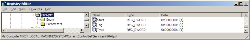 i8042prt Event ID 7026 The following boot-start or system-start