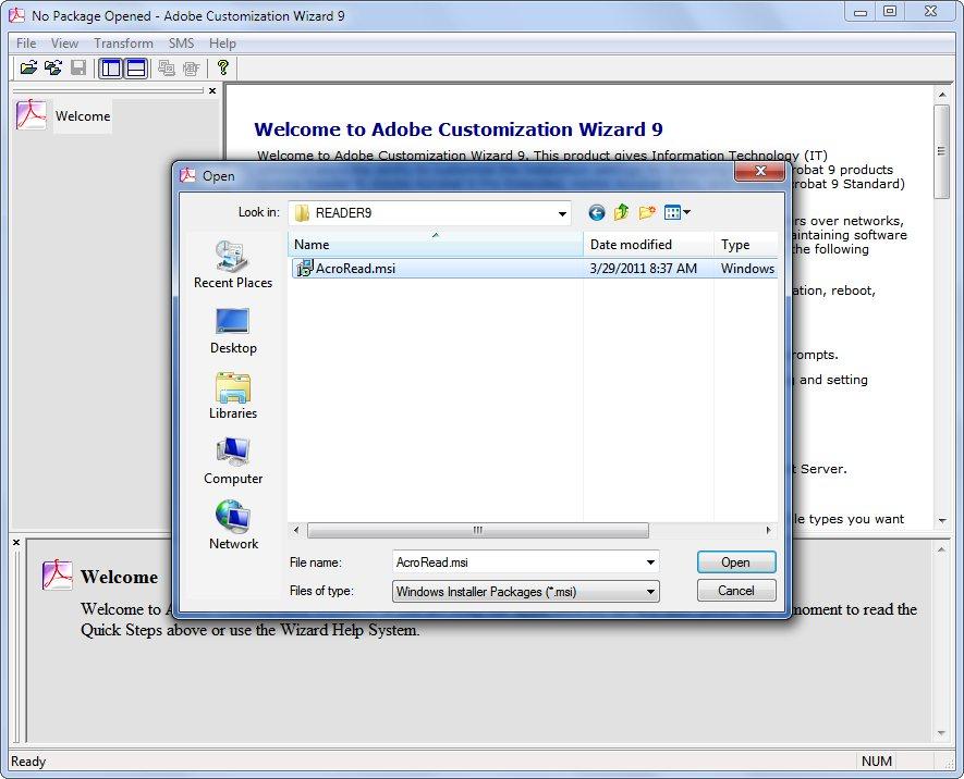 Adobe Msi