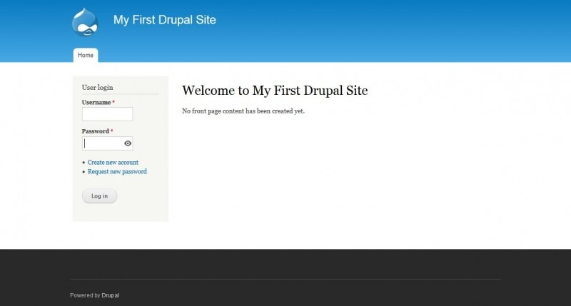 drupal-first-site