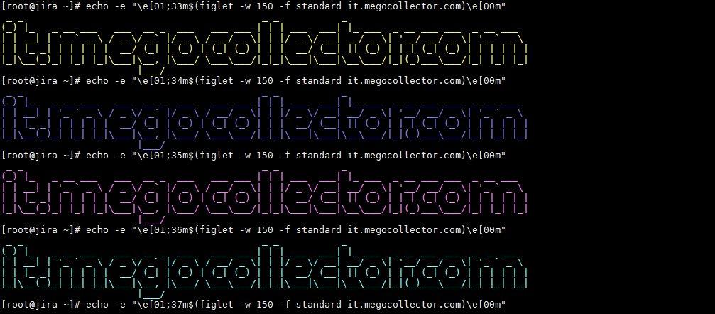 figlet-webaddress